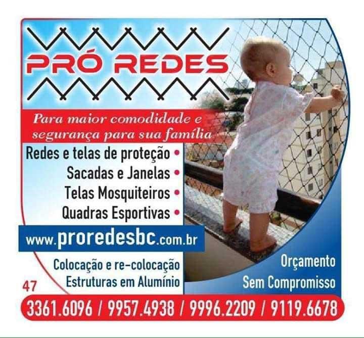 redes de proteção instalação instalador venda loja de fachadeira balneário camboriú itapema itajaí porto belo praia brava navegantes